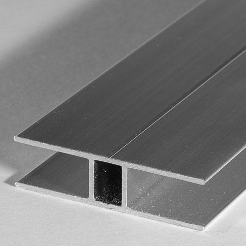 6mm aluminium h profil. Black Bedroom Furniture Sets. Home Design Ideas